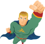 We shop your business coverage like a hero that carries you safely away from peril.
