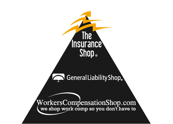 The Insurance Shop also operates General Liability Shop and Workers Compensation Shop.